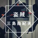 三島由紀夫「盗賊」のあらすじを徹底解説、読んでみた感想